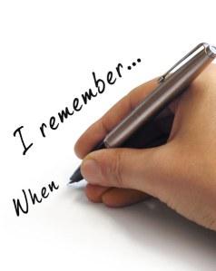 Writing Memories