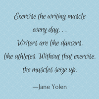 exercise your writing muscle