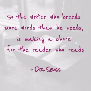 Dr. Seuss on Writing