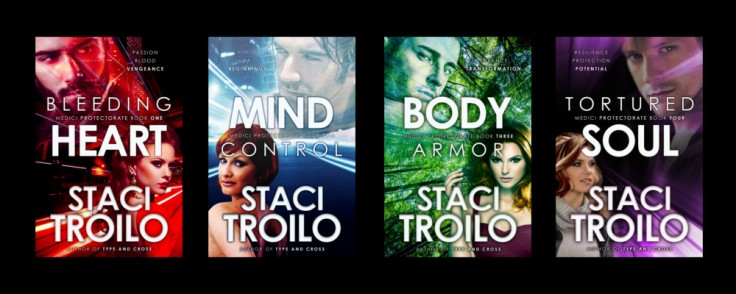 Medici Protectorate Series Covers