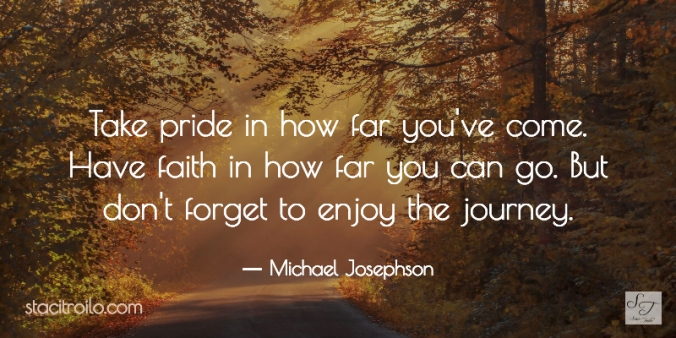 Pride, Faith, Enjoyment