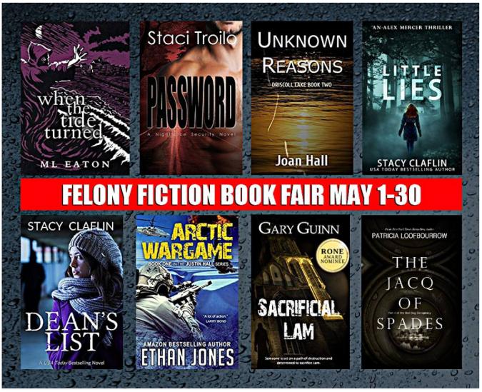 Felony Fiction Book Fair