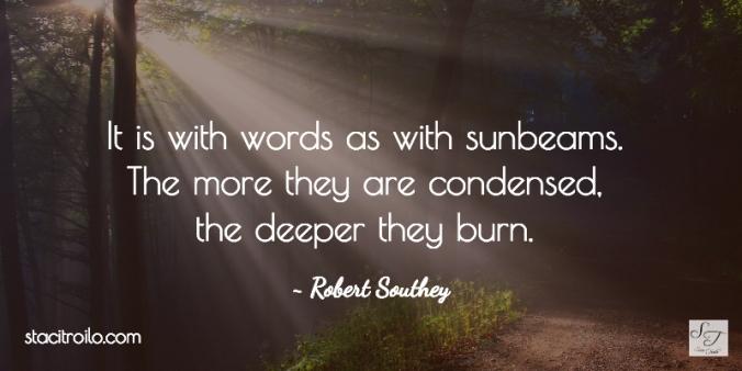 words and sunbeams