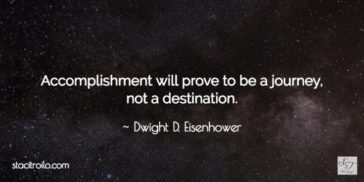 accomplishment journey destination