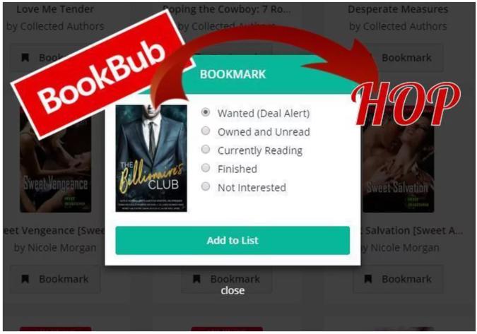 BookBub Hop