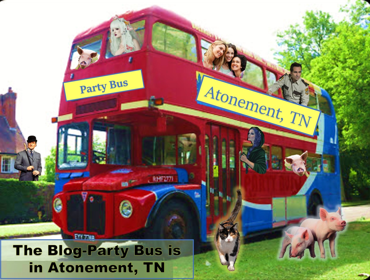 Atonement, TN Party Bus