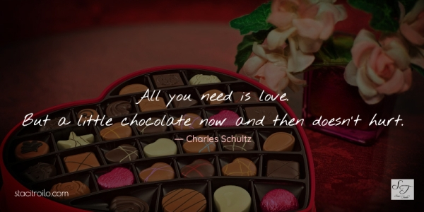 love and chocolate