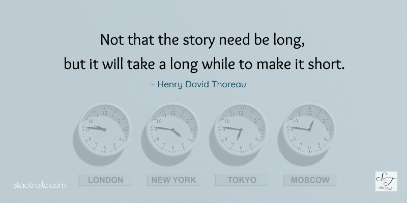 Not that the story need be long, but it will take a long while to make it short.