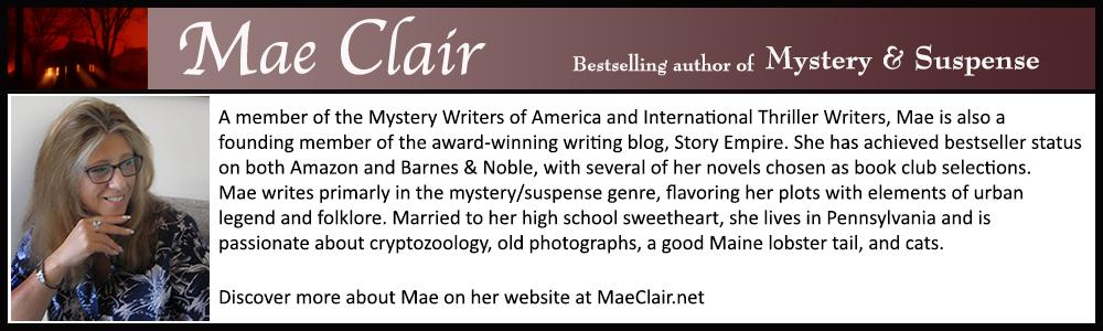 Biography box for Mae Clair.
